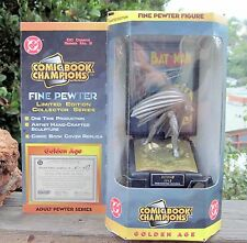 1997 Pewter Comic Book Champions DC Comics Batman 1943 Figure MIB Series 2 N-079