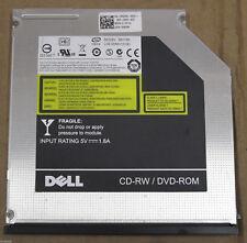 Dell MU10N 9.5mm Combo 8x DVD-ROM 24x24x24 CD-RW SATA Drive 5V-1.8A DP/n 0RK988