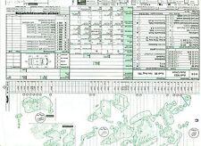 222 Audatex Explosionszeichnung Restaurierungshilfe Ford Capri II