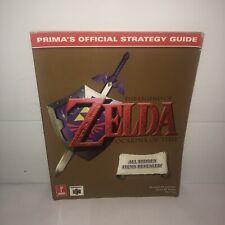 VGC Prima's Official Strategy Guide: Legend of Zelda Ocarina Of Time Nintendo 64