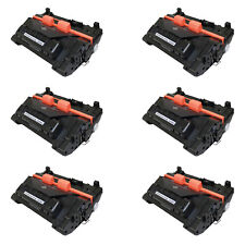 6PK CE390A Toner Cartridge Compatible For HP LaserJet M4555f Enterprise M602n