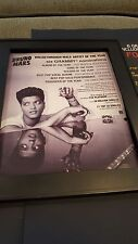 Bruno Mars Doo-Wops & Hooligans Rare Original Promo Poster Ad Framed!