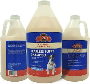 Oatmeal Baby Fresh Fragrance Dog Puppy Tearless Shampoo 1.9L By Grreat Choice