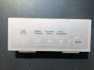 Refrigerator Temperature-Controlled Drawer User Interface Assembly WP W10503833