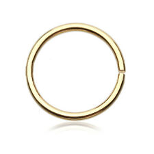 Concise Fake Body Piercing Nose Ear Lip Ring Clip On Hoop Stud Earring