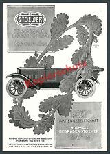 Reklame Stoewer-Werke Auto Cabrio Szczecin Stettin Eichenlaub Max Baumann 1924