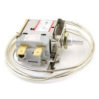 AC 250V 6A 2 Pin Terminals Freezer Refrigerator Thermostat Q4M8