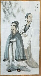 FINE ART CHINESE WATERCOLOR HAND PAINTING
