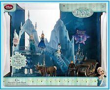 SINGING Disney Frozen Musical LIGHT UP Castle Play Set Elsa Anna figure dolls