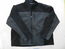 MENS gray soft shell sports zip up JACKET COAT = FREETECH size 3XL 54 56 = wh82