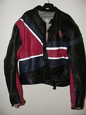 AUTHENTIC VINTAGE? VANUCCI MOTORCYCLES LEATHER JACKET WITH ARMOUR SIZE 58 RACING