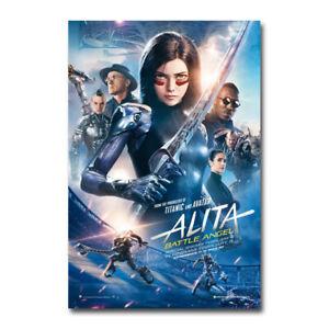 Alita Battle Angel Anime Movie Art Silk Poster Print 32x48 inch Wall Home Decor