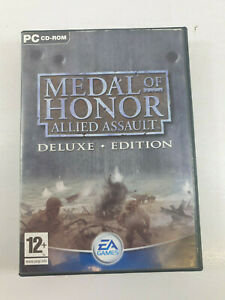 Medal Of Honor Allied Assault Deluxe Edition (PC) Game