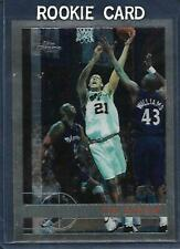1997-98 Topps Chrome Tim Duncan ROOKIE RC #115 Spurs Great Card
