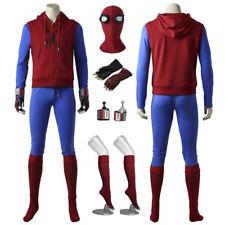 New Spiderman Homecoming Superhero Peter Parker Cosplay Costume Handmade
