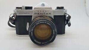 Pentax Spotmatic  Film Camera W/1:1.4/50 Lens