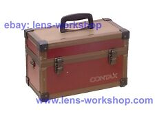 Rare Used Contax Original Aluminum Box-Type Hard Case