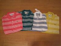 NWT Men's Lacoste Polo Shirts