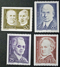 Timbre SUÈDE / Stamp SWEDEN Yvert et Tellier n°765 à 768 (cyn9)