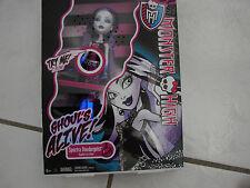 Monster High Doll Ghoul's Alive Spectra Vondergeist  Glowing legs /sound making