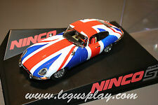 SCX Scalextric Slot Ninco 50620 Jaguar E-Coupe Union Jack
