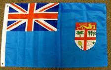 FIJI FLAG 2X3 COAT OF ARMS UNITED KINGDOM FIJIAN COUNTRY  2'X3'  F1106