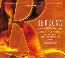 Rebecca - Das Musical - Gesamtaufnahme Wien Live (Uwe Kröger) 2CD NEU + OVP!
