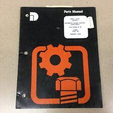 Dresser A600 AUTOMATIC BLADE CONTROL PARTS MANUAL BOOK CATALOG MOTOR GRADER LIST