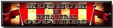 MUSEUM OF UNNATURAL ODDITIES METAL SIGN,AMERICAN HORROR STORY,EVAN PETERS,CIRCUS
