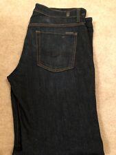 Men's 7 For All Mankind Dark Wash Standard Fit Jeans 32 x 33