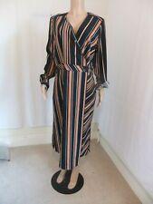 LIPSY SIZE UK  18 WRAP  TIE WAIST DRESS BNWT @ NEXT £40 WEDDING CRUISE