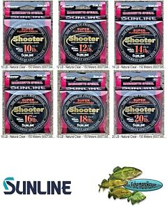 Sunline Shooter Fluorocarbon - Marionette Any LB Test 150 Meter Fishing Lines