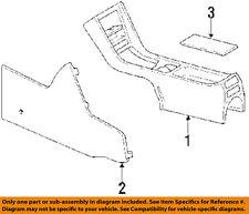 MERCEDES OEM 86-91 560SEC Center-Console-Console Housing 12668014509045