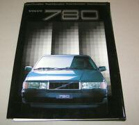 Pressemappe - Volvo 780 design by Bertone - Ausgabe 1985