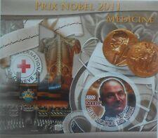 B.A. Beutler Nobel laureate Medicine science 2012 s/s IMPERF #P298