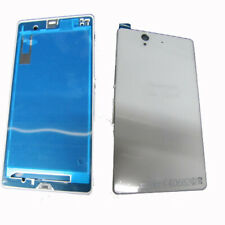 Fascia Housing Back Battery Cover For S.Eric Xperia Z LT36i L36H C6603 White