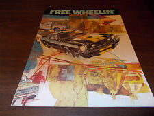 1977 Ford Free Wheelin Car and Truck Sales Catalog
