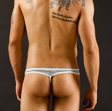 UK Gay / Straight Sexy Lingerie Pouch Thong String Underwear T-back Brief Size S