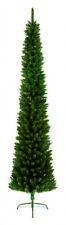 Premier Pine Pencil Slim Christmas Tree - Green - 200cm/2m