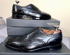 ALDEN 903 Wing Tip Balmoral Black Calfskin Oxford Vibram Sole MSRP $538 Sz 10 C