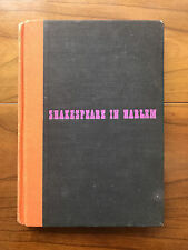 Shakespeare In Harlem, by Langston Hughes - 1942 -1st Ed. Vintage Hardcover Book