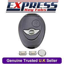 2 Button Remote Key Fob Case Service Repair Kit For BMW Mini One Cooper R50 R53