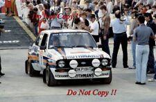 El Señor Vatanen nos & David Richards Ford Escort RS1800 San Remo Rally 1981 fotografía 4