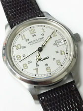 Hamilton 9721B Khaki Automatic Watch Original Genuine Swiss Made 25 Jewels