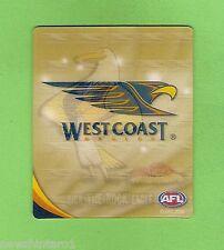 #D253. 2010 AFL  TAZO #75 WEST COAST EAGLES MASCOT
