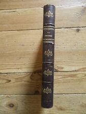 Œuvres morales et philosophiques de Descartes  Firmin Didot, 1879. Reliure