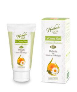 HUILERIE Crema Mani Calendula & Bisabololo - Delicata - 75 ml