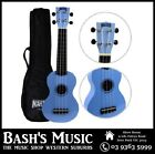 Mahalo MR1 Soprano Ukulele Beginner Starter with Bag Carry Case - LIGHT BLUE