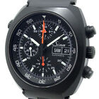 Sinn Space Chronograph Automatic 142.BS Lemania 5100 Day-Date SS PVD Processing