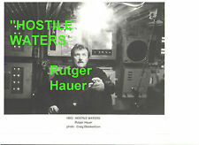 RUTGER HAUER HOSTILE WATERS RUSSIA SUBMARINE NUCLEAR ORIGINAL 8X10 PRESS PHOTO